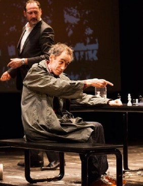Reikiavik reconstruye el duelo entre soviético Boris Spasski y Bobby Fischer.