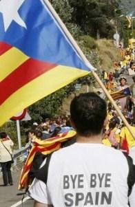 Un 47,7 por ciento de los catalanes encuestados son partidarios de la independencia de Cataluña.