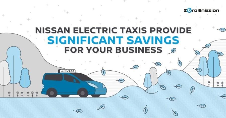Nissan leads a global EV taxi revolution