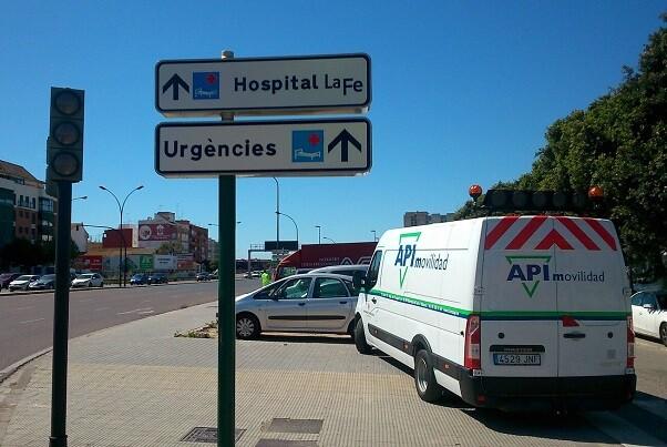 Movilidad Sostenible habilita un nuevo acceso más directo y rápido al Hospital La Fe.