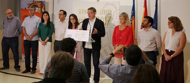 Oltra ha destacado que el Ejecutivo valenciano ha cumplido con el 78,61 por ciento de los compromisos marcados en los anteriores Seminarios de Gobierno.