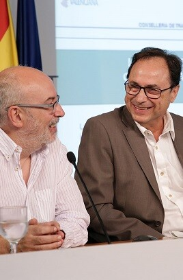 Vicent Soler y Manuel Alcaraz.