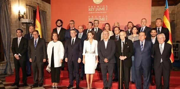 Foto de la entrega de Premis Jaume I.