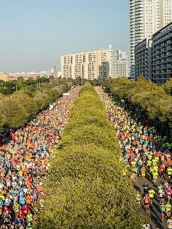 Maratón Valencia.