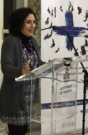 Firma de la Red Sanitaria Solidaria de València.