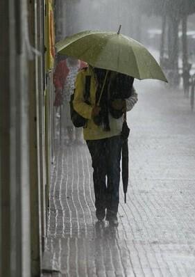 Se esperan intensas lluvias.