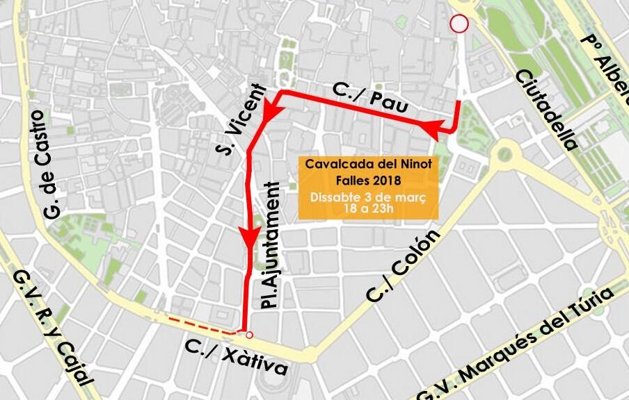 0302 Cabalgata del Ninot 3-03-2018