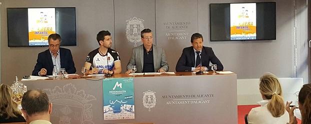 La empresa donará 1€ por cada corredor que llegue a la meta del Medio Maratón de Aguas de Alicante.