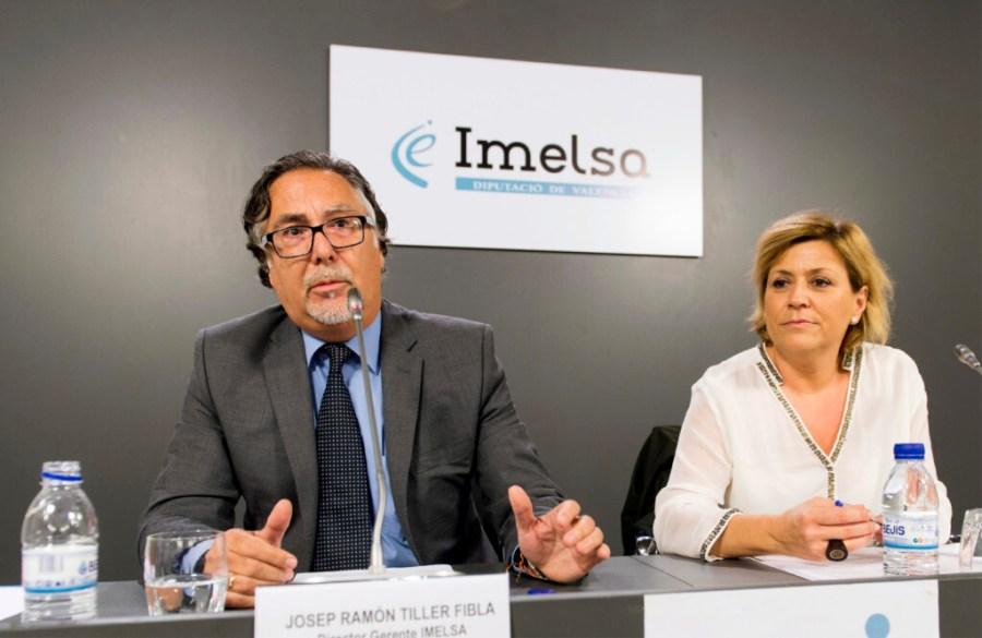 La cogerencia de Imelsa, formada por Josep Ramon Tiller y Agustina Brines,