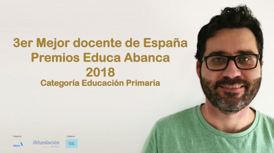 ·er. Mejor docente de España