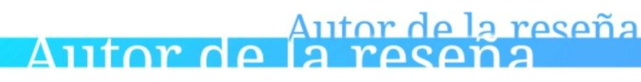 Autor de la reseña