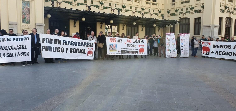 huelga trenes regionales valencia Trens Dignes al Maestra (3)