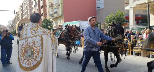 bendición de la fiesta de san Antonio Abad en València 20200117_094858 (10)