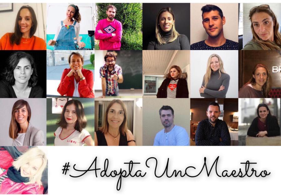 Los 19 promotores de la iniciativa.