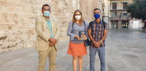 La Dra. Ana Mafé acompaña a la televisión francesa en busca de localizaciones para una grabación sobre el Santo Grial 20200706_090824 (1)