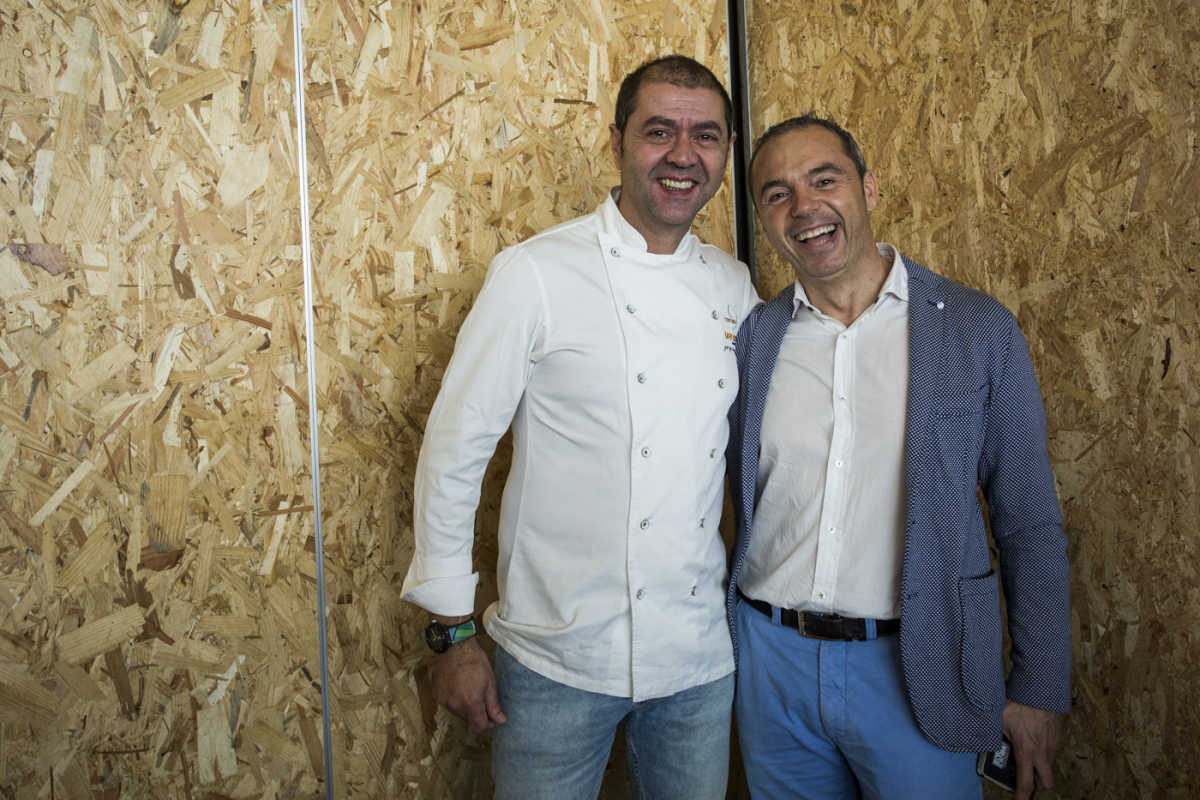 Jorge de Andrés y Manuel Alonso (Foto: EVA MÁÑEZ)