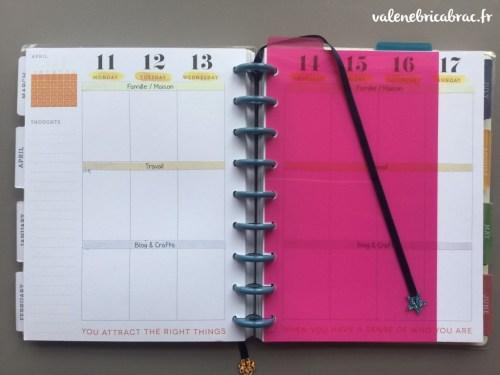 Happy planner [le bric-à-brac de Valene]