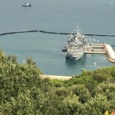 a NATO vessel