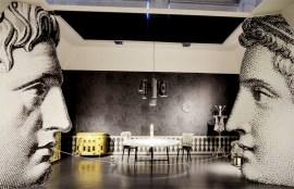 Piero Fornasetti at triennale di Milano designboom