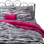 Xhilaration Zebra Bed in a Bag