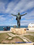 Statue to Singer Domenico Modugno