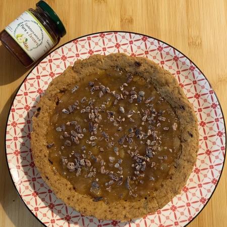 Crostata Morbida Pere e cioccolato