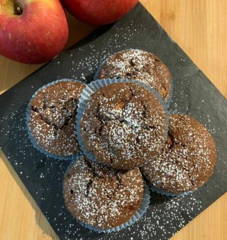 Muffin Mele e Cioccolato