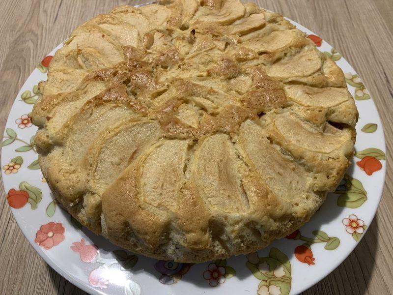 Torta di mele con farina di farro 1 Bionutriform