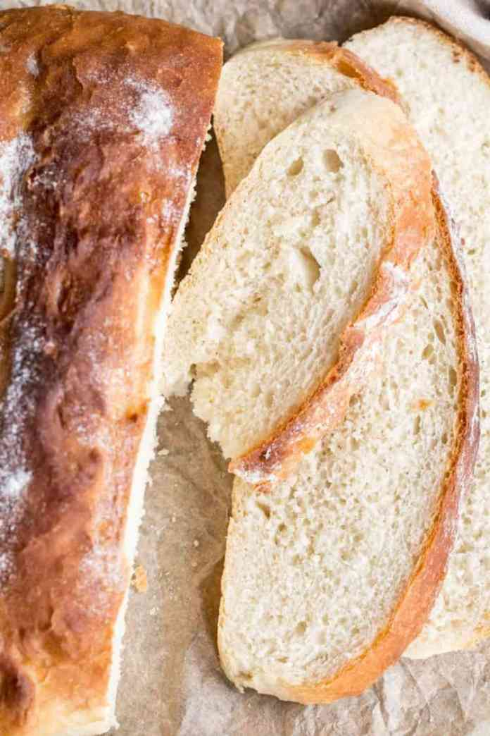 Crispy Italian Bread Recipe Valentina S Corner