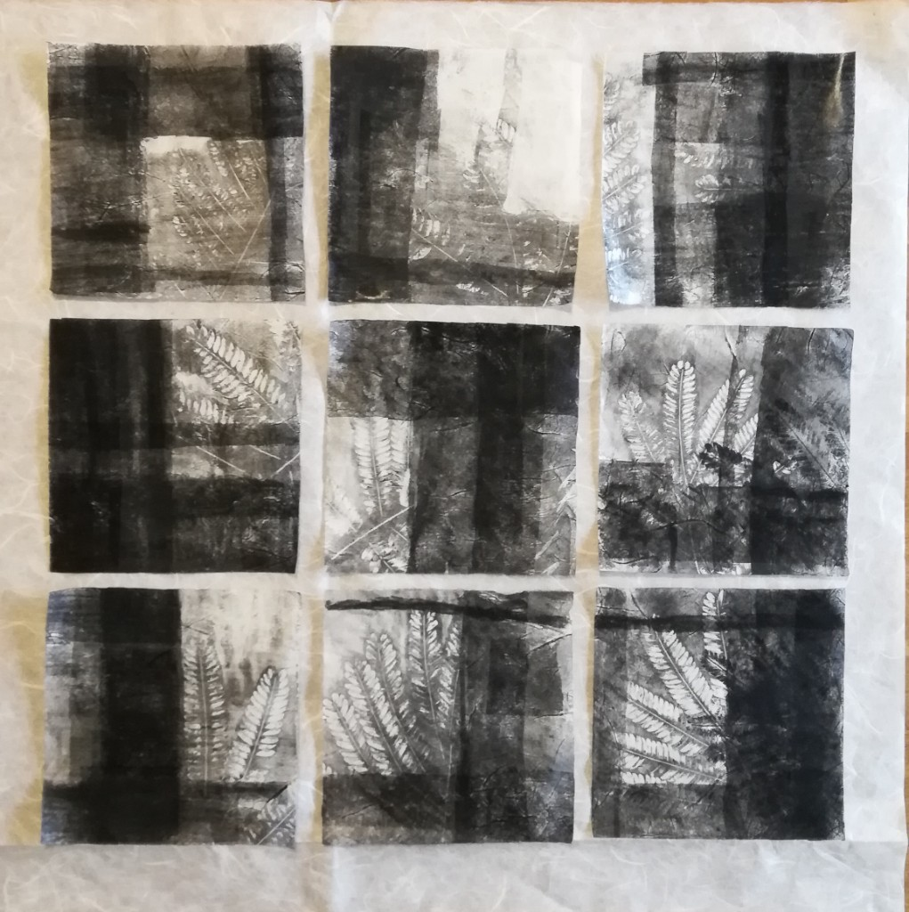 Monoprint Epitalamio, Valentina Semprini