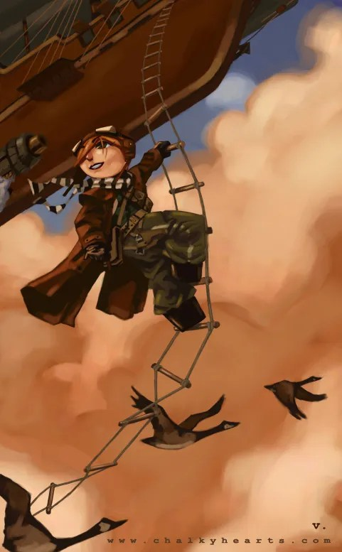 Steampunk Mailman
