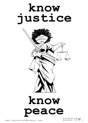 Know Justice Know Peace_protest