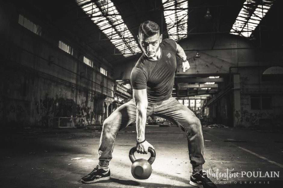 Shooting fitness soulever terre - Valentine Poulain