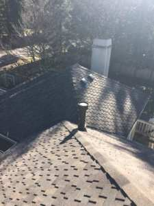 woodinville composite roof replacement view from top