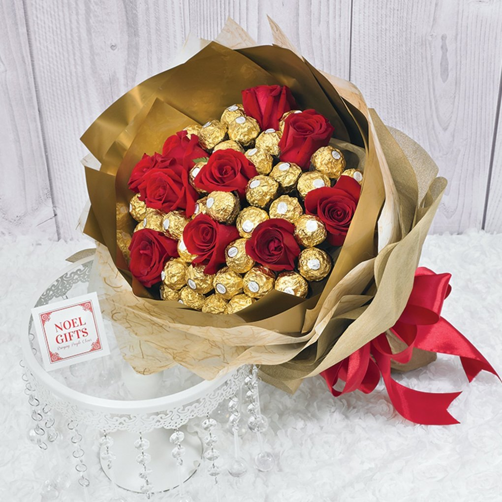 noel gifts flowers
