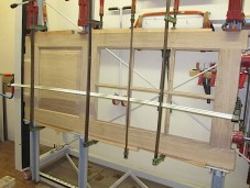 Fabrication de portes artisanales