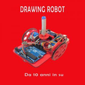 drawing robot il robot che disegna corso dai 10 anni in su