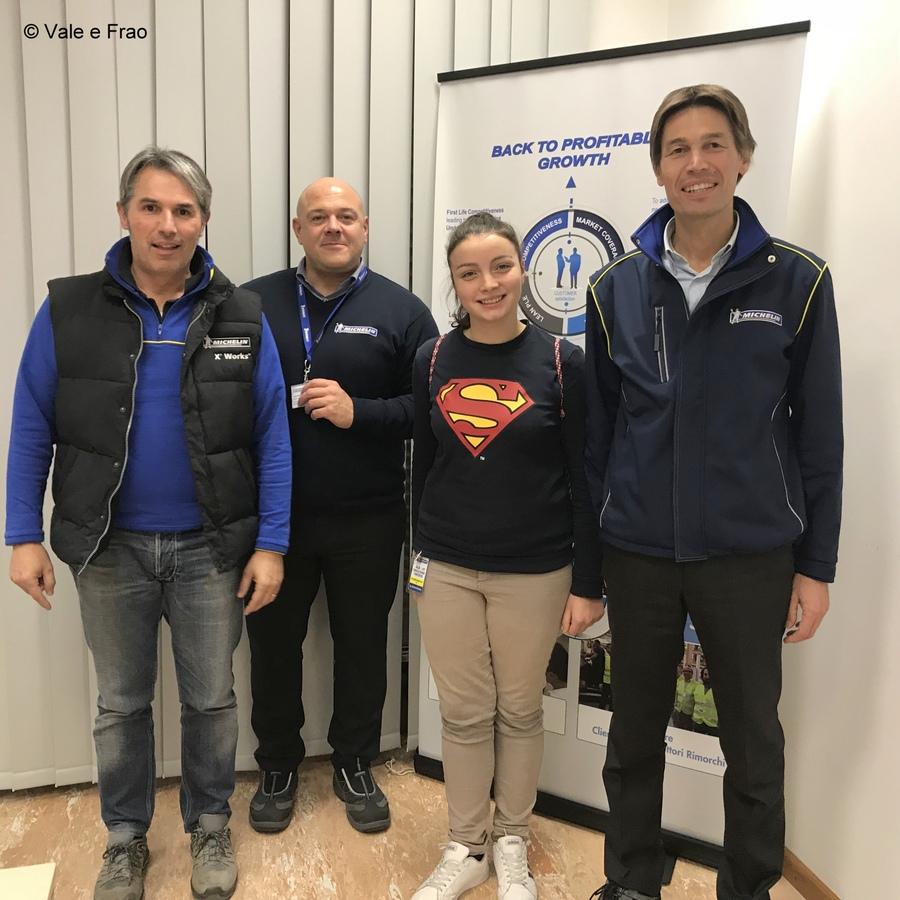 Formazione e team building in azienda: Michelin team