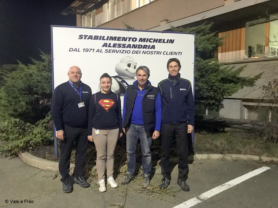 Formazione e team building in azienda: Michelin entrata
