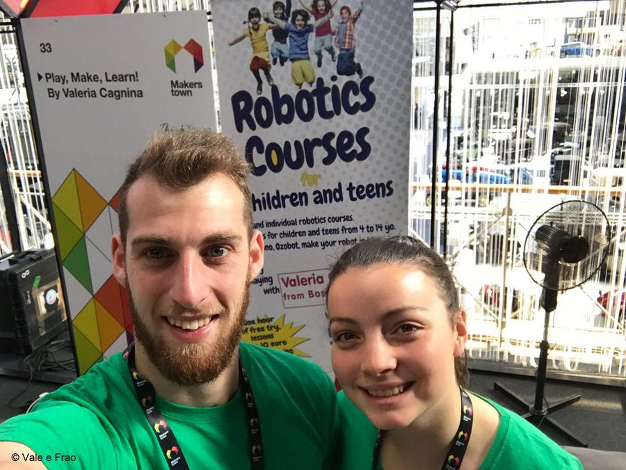 MakersTown 2018: fiera maker a Bruxelles Valeria e Francesco