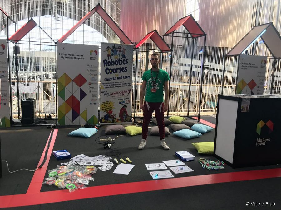 MakersTown 2018: fiera maker a Bruxelles nostro stand
