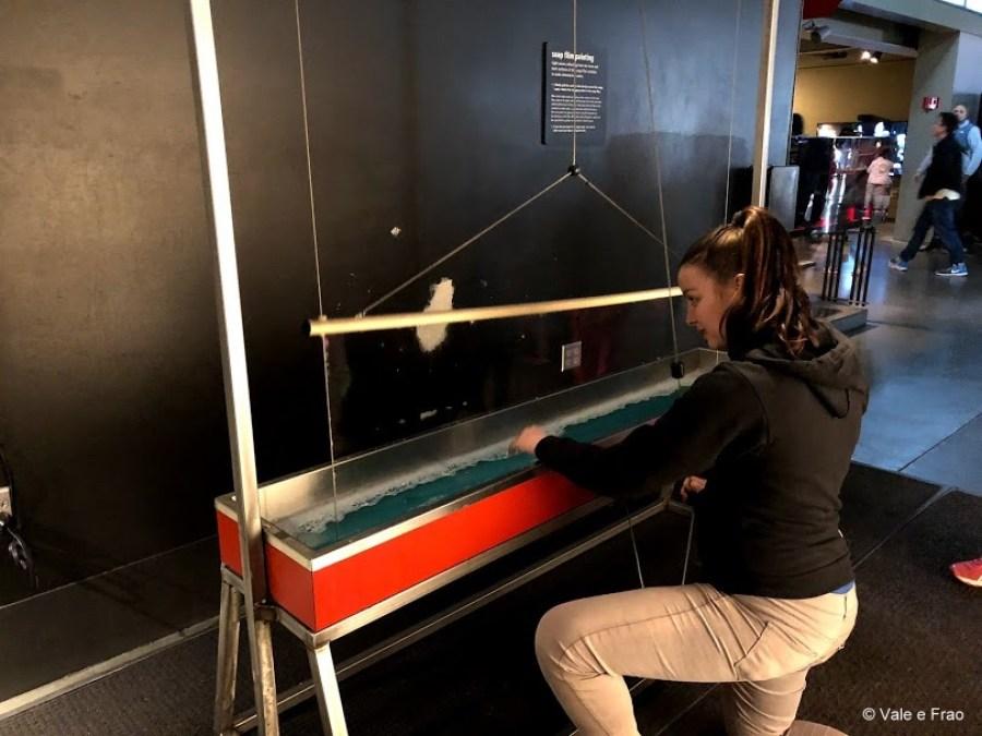 visitare Exploratorium il museo della scienza di San Francisco California esperimenti infiniti