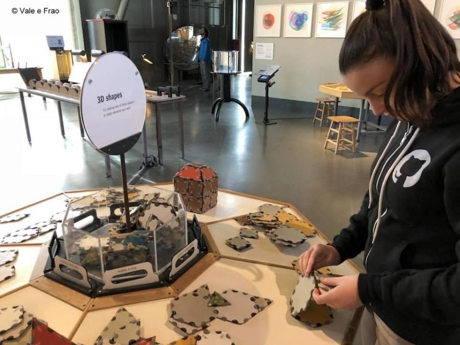 visitare Exploratorium il museo della scienza di San Francisco California esperimenti