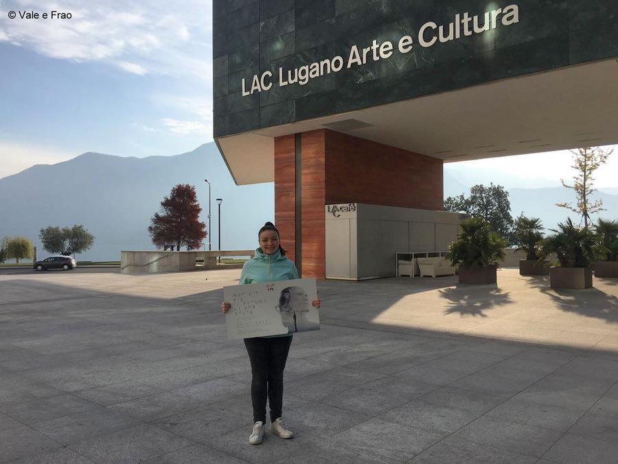 Conferenza a Lugano: sono speaker. Entrata LAC