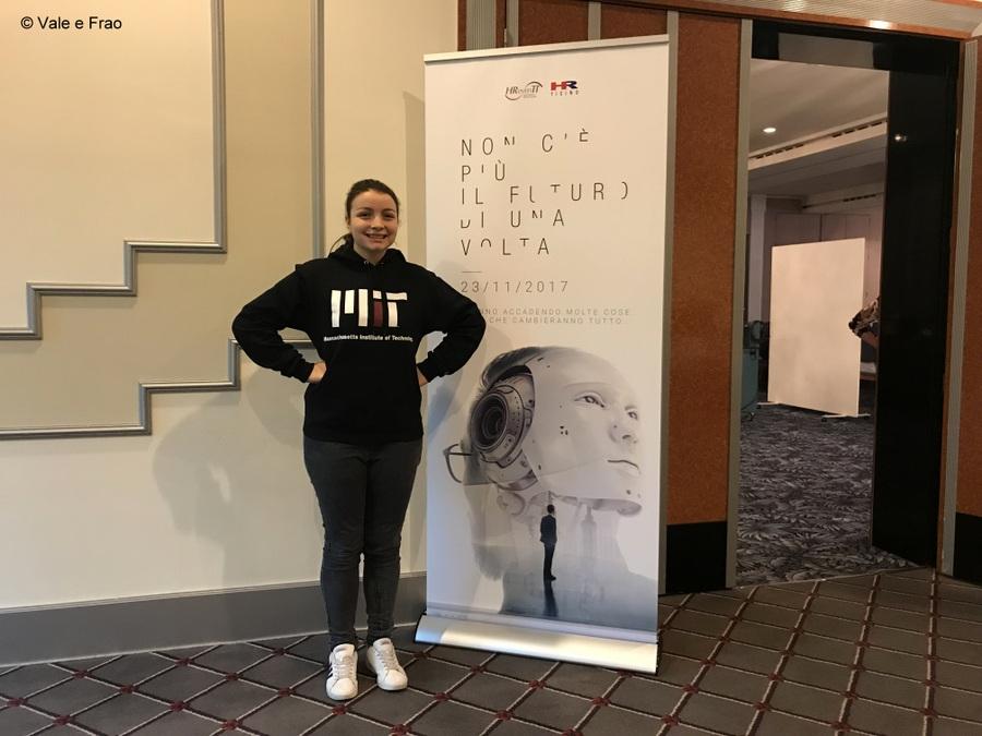 Conferenza a Lugano: sono speaker. Entrata conferenza