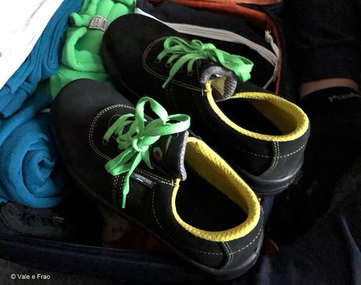alternanza scuola lavoro è una grande opportunità! le miei prime scarpe antinfortunistiche