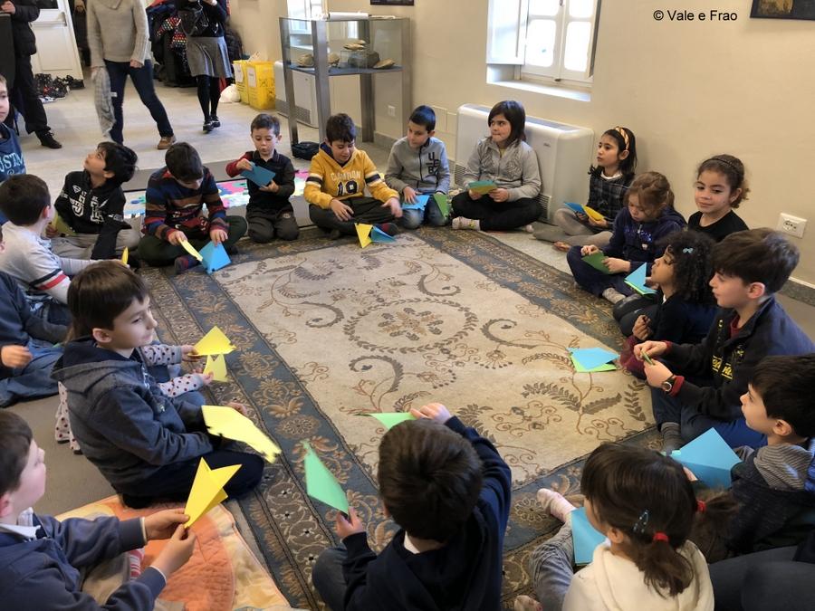 Laboratori di robotica per bambini al museo di Asti FroggyLed