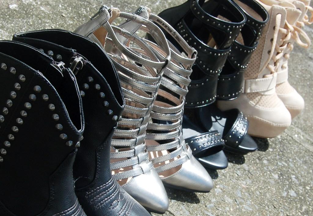 Shoe party!