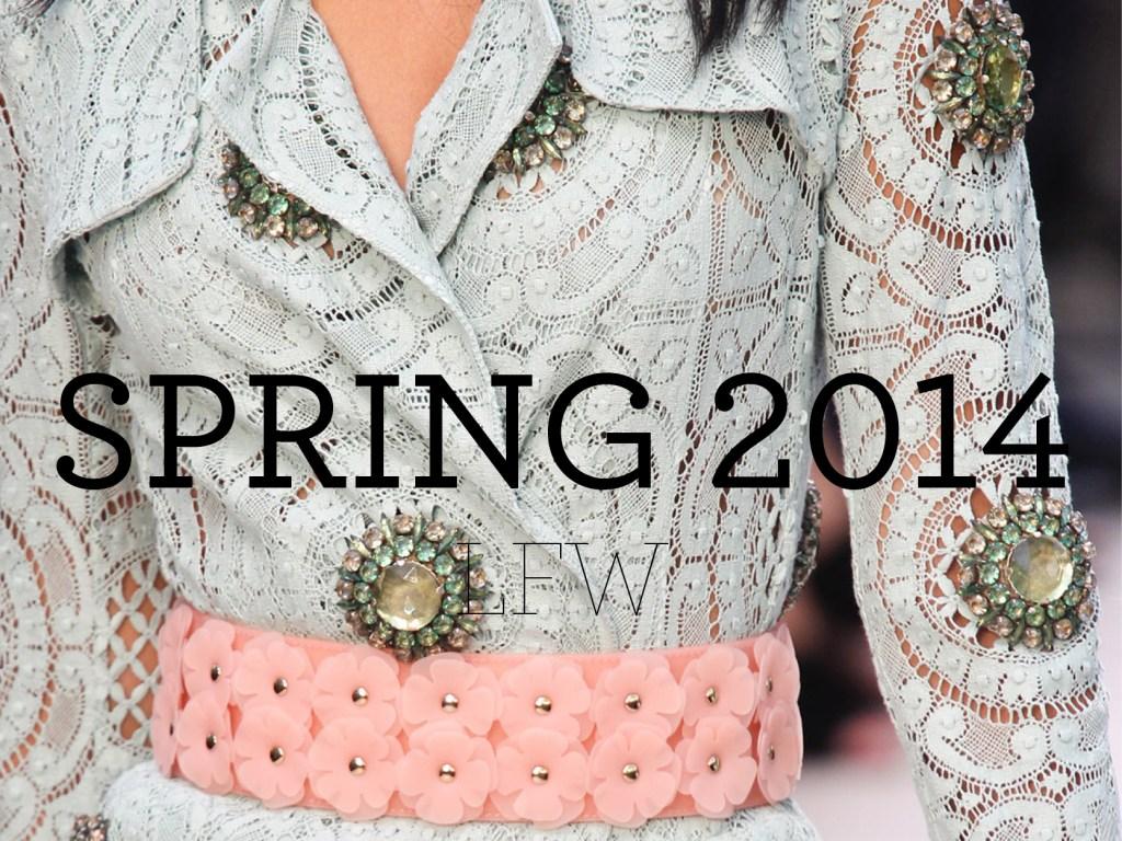 Spring 2014 – LFW
