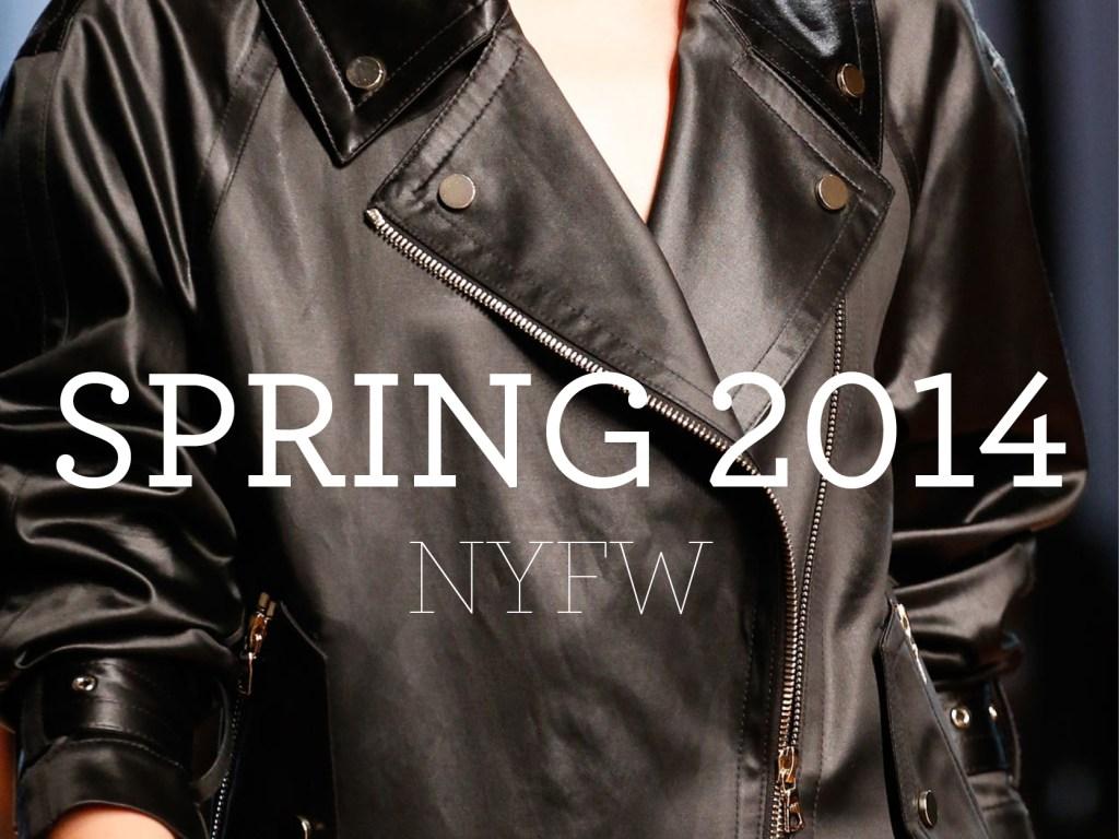 Spring 2014 – NYFW